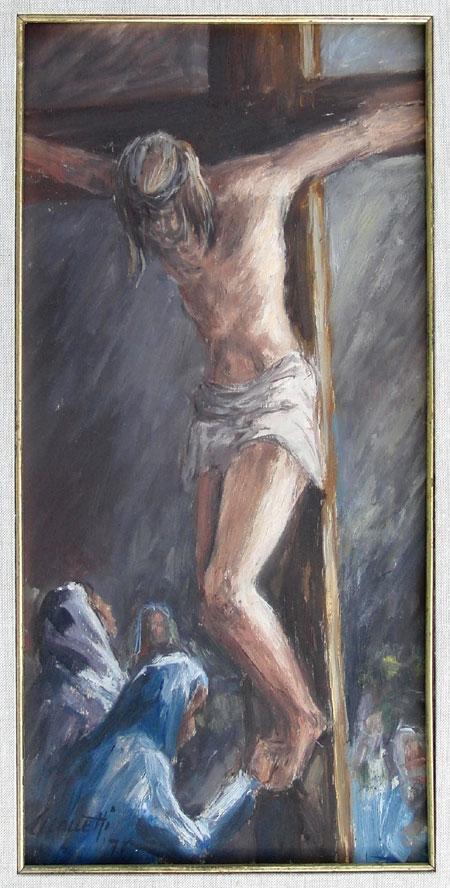 La Crocifissione - Saverio Manetti