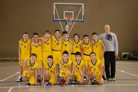 La squadra UNDER 13 della Pallavolo Campi
