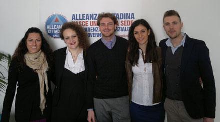 Nella foto allegata, da sinistra a destra, Diletta Marzi, Elisa Craparotta, Alessandro Tesi, Erica Arrigucci e Daniele Baratti