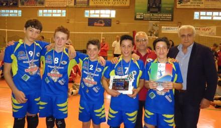 Da sinistra:Tommaso Brancadoro, Gabriele Fossi, Giovanni Ammannati, Gilberto Fucheri e Andrea Biblioteca.