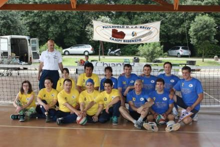 La Sitting Volleyball Bologna e la Pallavolo Bacci