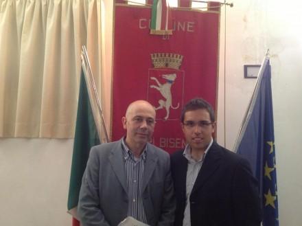 Il Vice Presidente valerio ed il capogruppo PDL Gandola