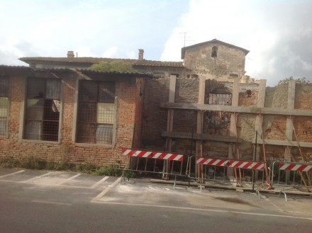 Lo stato degradato del Mulino di San Donnino